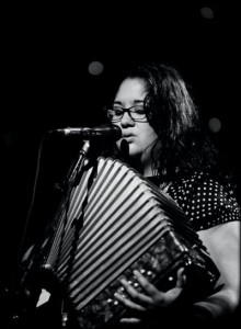 Tara on Accordian